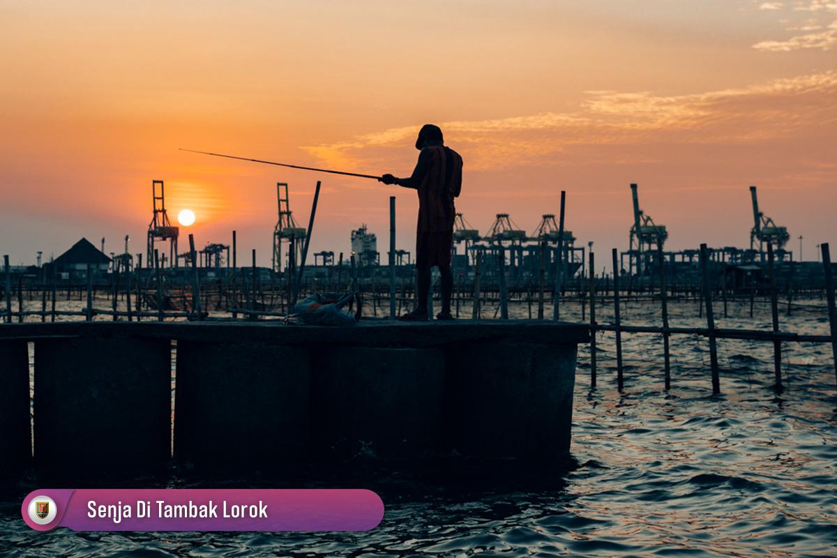 Senja Tambak Lorok Semarang