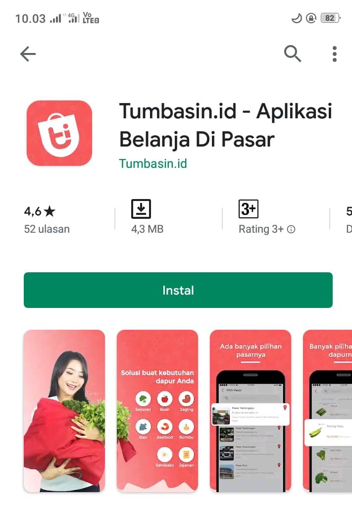 Pemkot Semarang :  Aplikasi Tumbasin.id Mudahkan, Ibu Rumah Tangga Belanja