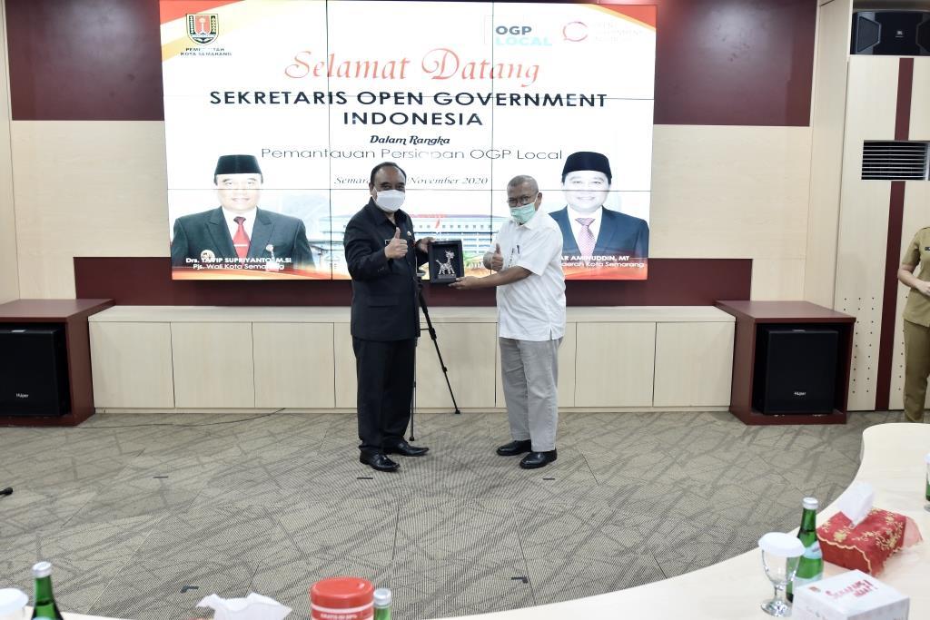 Keanggotaan Kota Semarang  Dalam OGP Diapresias