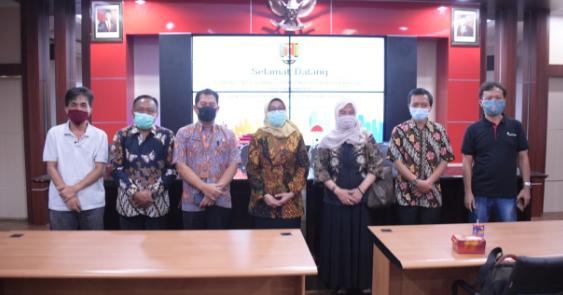 Menerima Kunjungan Study Banding Dari Diskominfo Kabupaten Malang