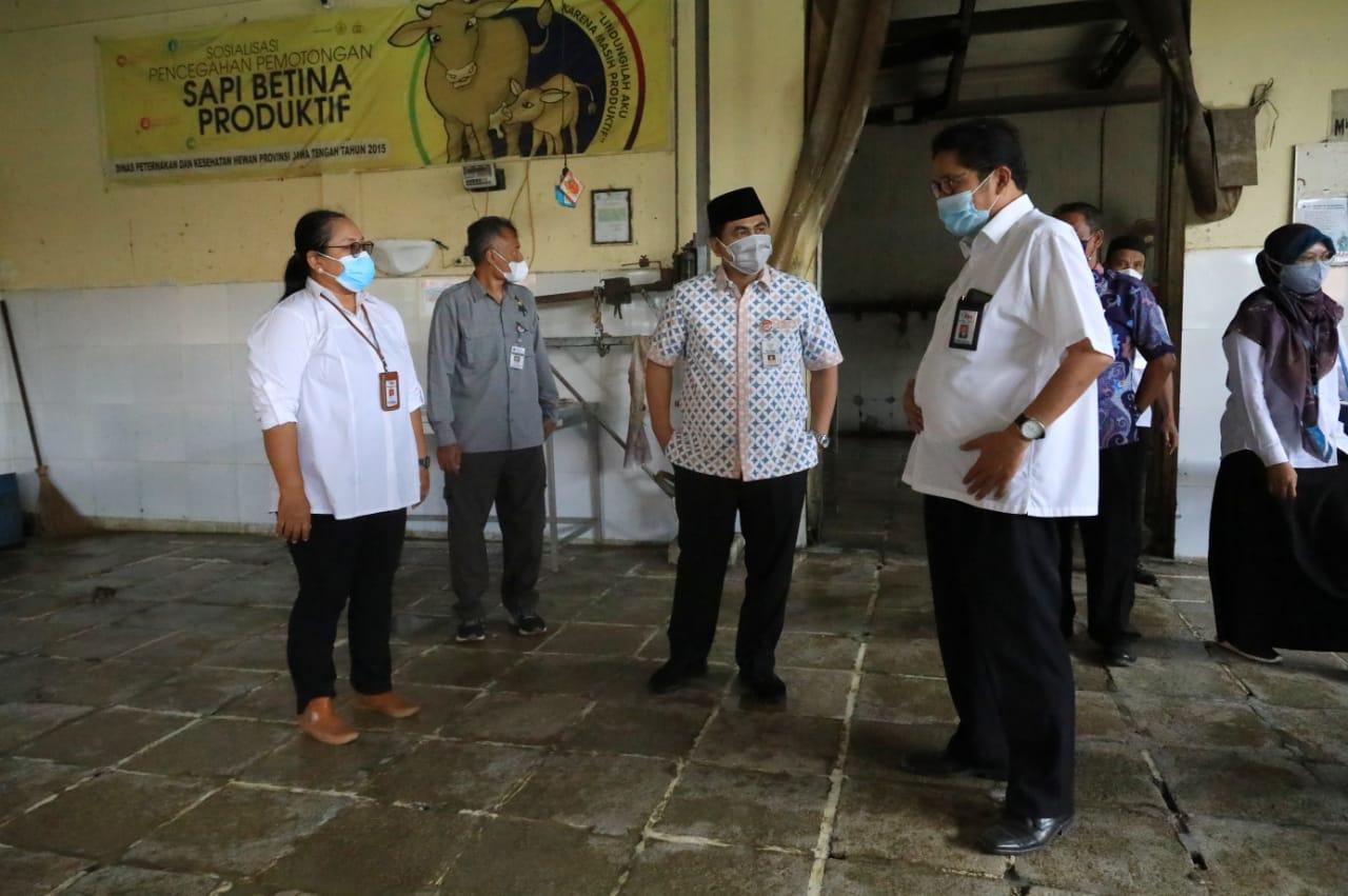 RPH Penggaron Difokuskan untuk Penyembalihan Kurban di Masa Pandemi Covid-19