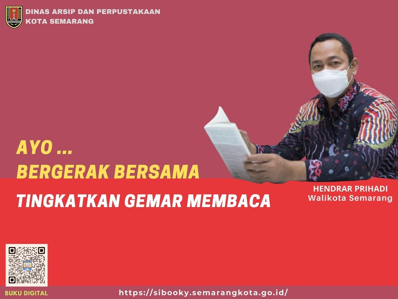Tingkatkan Gemar Membaca Saat Pandemi, Pemkot Semarang Gencarkan Buku Digital SiBooky