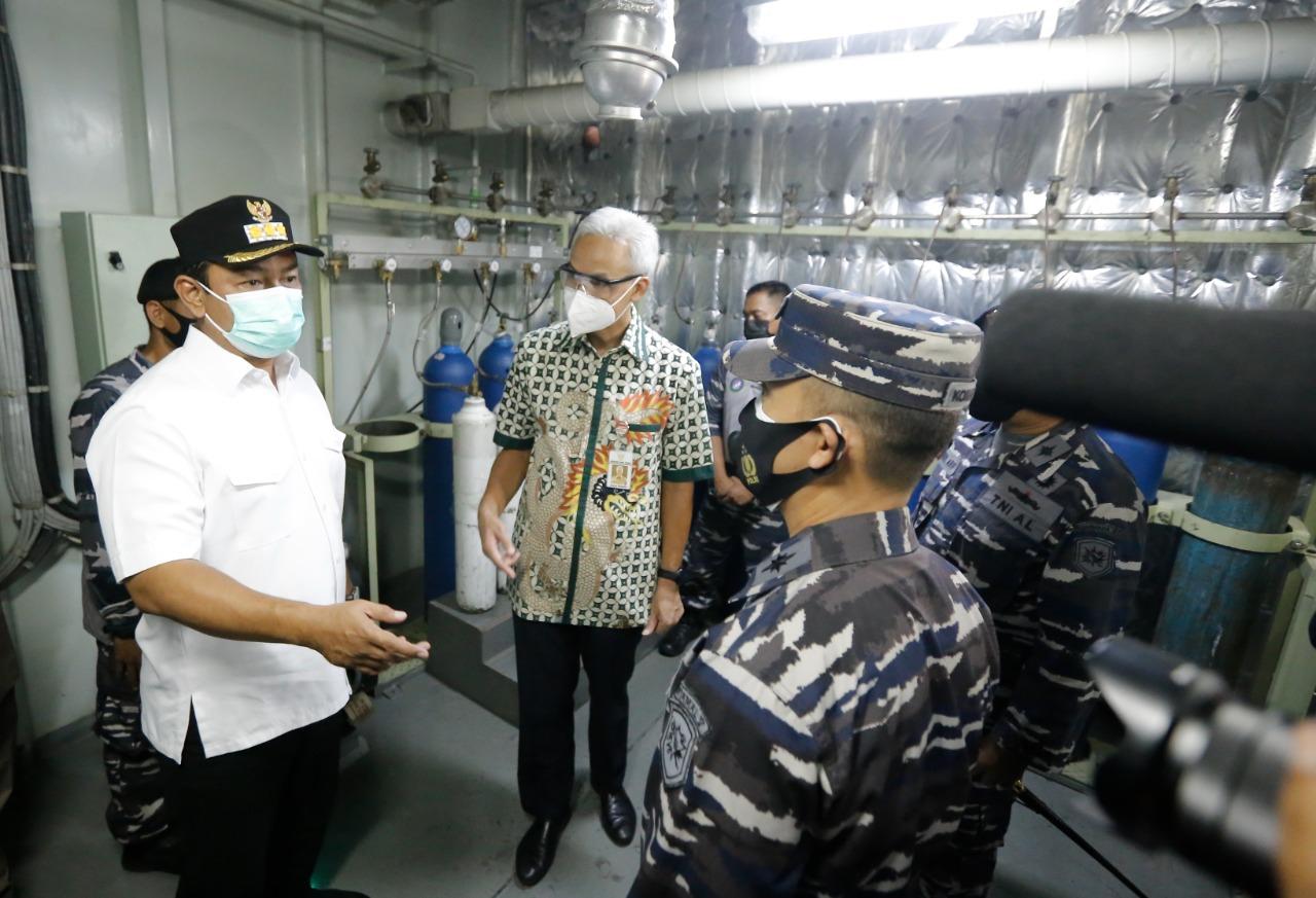 BOR Pasien Covid-19 Menurun, Distribusi Oksigen di Semarang Aman