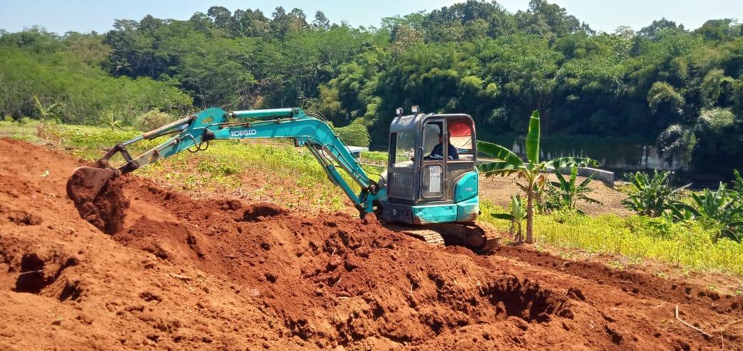 Disperkim Minta Dukungan Alat Berat untuk Gali Lubang Makam di TPU Jatisari