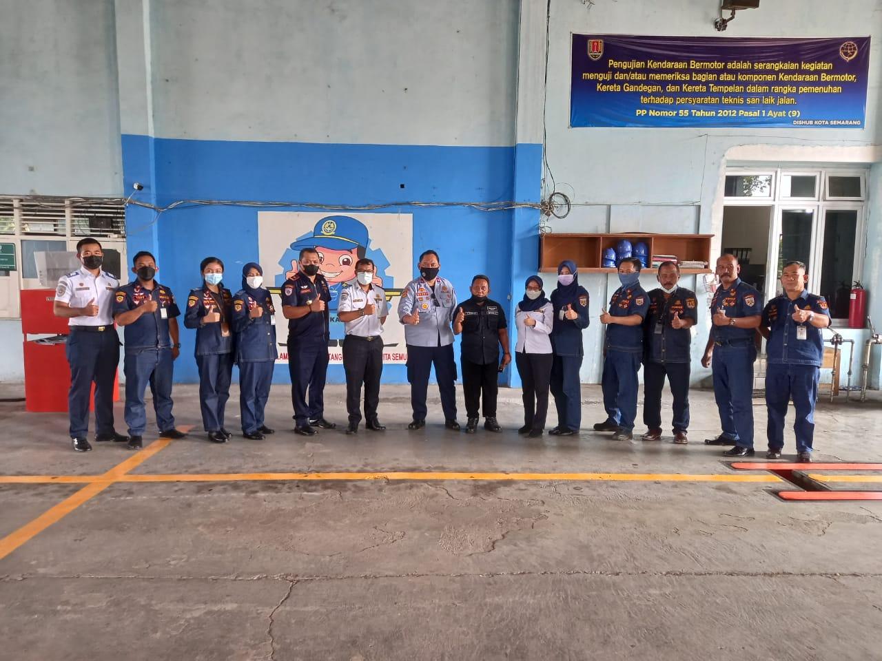 Kunjungan dari Dinas Perhubungan Kota Magelang di Dinas Perhubungan Kota Semarang